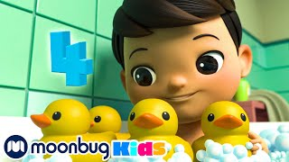 Five Little Ducks | BRAND NEW | Little Baby Bum | Cartoons and Kids Songs | Learning Numbers Songs
