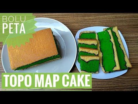 TOPO MAP CAKE,  BOLU PETA,  BOLU ALUNAN KASIH
