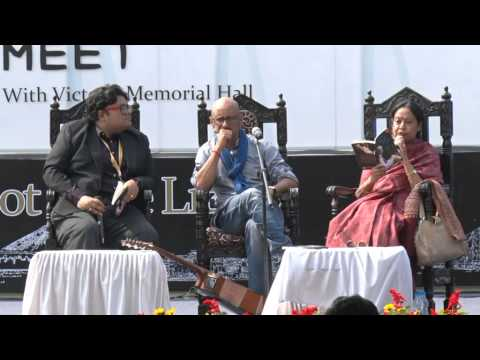 Shantanu Moitra at Tata Steel Kolkata Literary Meet 2015 -- Part 1