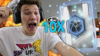 GREATEST NBA 2K17 PACK OPENING OF ALL TIME! *RECORD 10 DIAMOND PULLS*