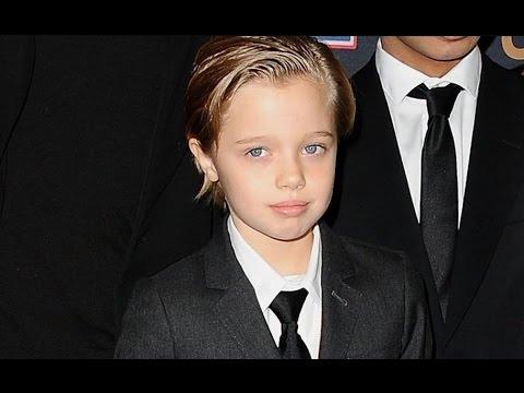 ¿Hija de Brad Pitt y Angelina Jolie quiere ser varón?