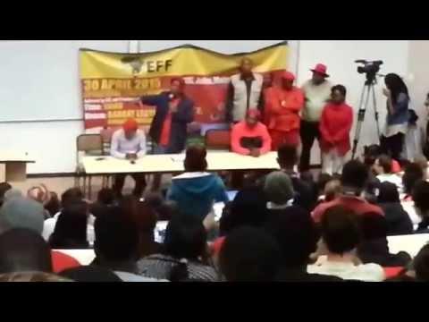 Julius Malema @ Rhodes Part 1