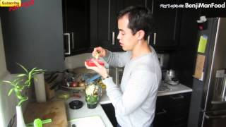 Green Smoothie Recipe (Affordable and Quick)- BenjiManTV