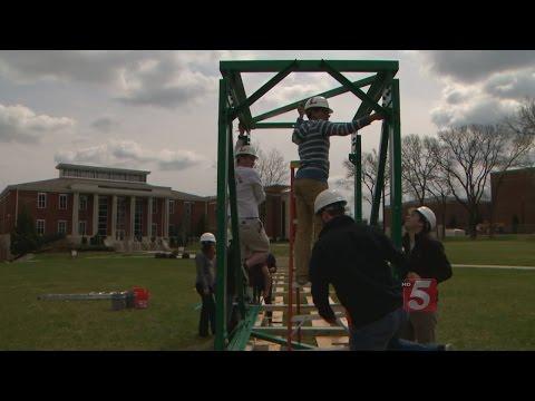 Lipsomb Students Building A Bridge That Will Go To Honduras
