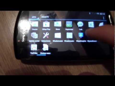 Sony Ericsson XPERIA X10 With Android Ice Cream Sandwich CM9 Review