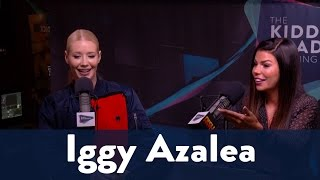 Kinsey's Question to Iggy- Squat or No Squat? 5/7 | KiddNation