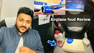 Airplane Food Review || GoAir overview || Delhi to Ahmedabad || Premium Veg Meals ||
