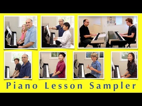 Piano Lesson Sampler Video