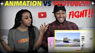 """Animation vs. YouTube (original)"" by Alan Becker REACTION!!!!!"