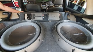Modified Volkswagen Polo With Loudest Subwoofer | 4 Components 2 Subwoofer 3 Amplifier & Lots More