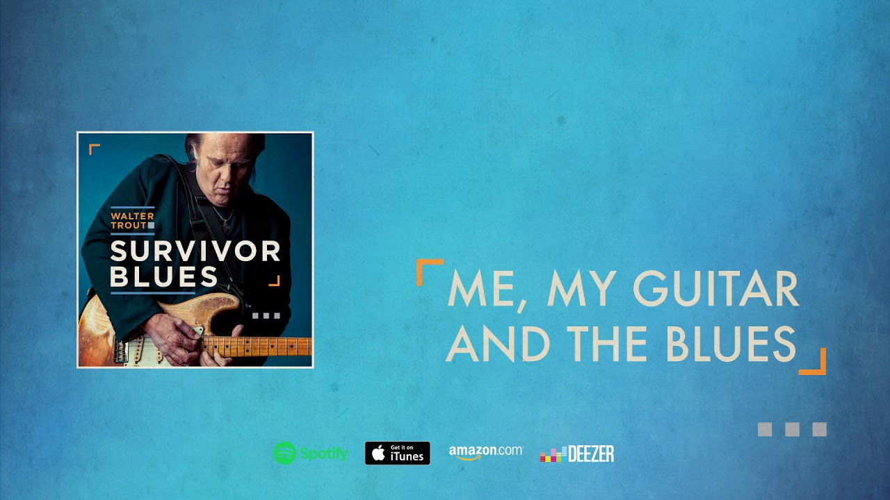 "Walter Trout - 新譜「Survivor Blues」2019年1月25日発売予定 ""Me, My Guitar And The Blues""の試聴音源を公開 thm Music info Clip"