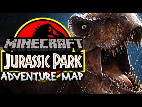 Jurassic Park Adventure Map | Minecraft