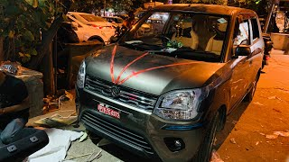 New Maruti Wagonr Modified In Budget | Bucket Seat Covers | Speakers | Stereo | Reflectors | Horn