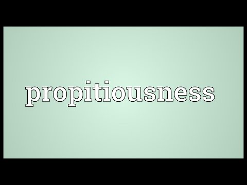 Header of propitiousness