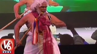 Gaddar Performance At Gadwal District Celebrations |