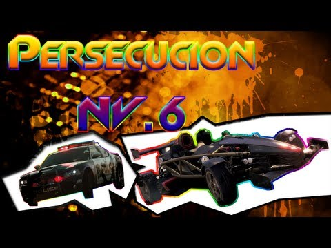 Persecución nivel 6 - Need for speed : Most Wanted - NFS001