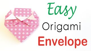 Easy☺︎ Origami Paper Strawberry Letter Envelope Instructions【A4 paper】- Origami Kawaii