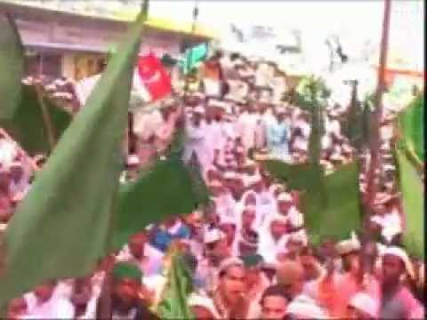 Juloos-e-milad Of Dawat-e-islami Shahjahanpur Up India.mp4 video