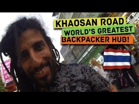 Khao San Road — World's greatest backpacker hub!!! (Bangkok, Thailand)