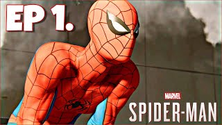 Spider-Man PS4 100% Playthrough: Ep 1 - Assault on Fisk Tower