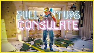 Valk Full Setups: Consulate | Valkyrie Camera Spots on Ranked Maps | Rainbow Six Siege