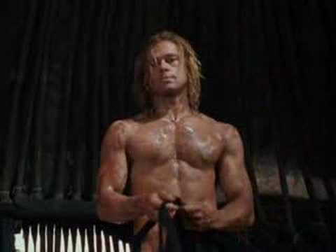 Troy Clip: Achilles Meets Briseis video