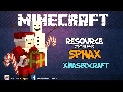 Christmas Minecraft : Sphax XmasBDcraft Resource Pack [1.7.4/1.7.2/1.6.4/1.6.2]