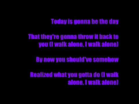 Green Day feat Oasis - Boulevard Of Broken Dreams (lyrics)