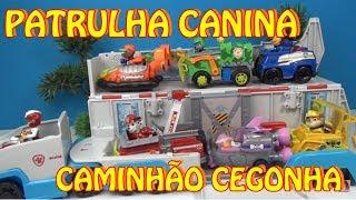 Patrulha Canina e o Caminhão Cegonha  #patrulhacanina #pawpatrol #caminhaocegonha