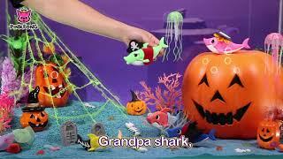 Clay Halloween Sharks - Halloween Songs - Baby Shark - Educational Songs for Children