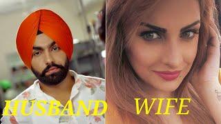 Real Life Beautiful Wife Of Top Punjabi Singers   Shocking