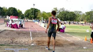 MEN'S LONG JUMP  FINAL . 21 st FEDERATION CUP NATIONAL SENIOR ATHLETICS CHAMPIONSHIPS-2017 .