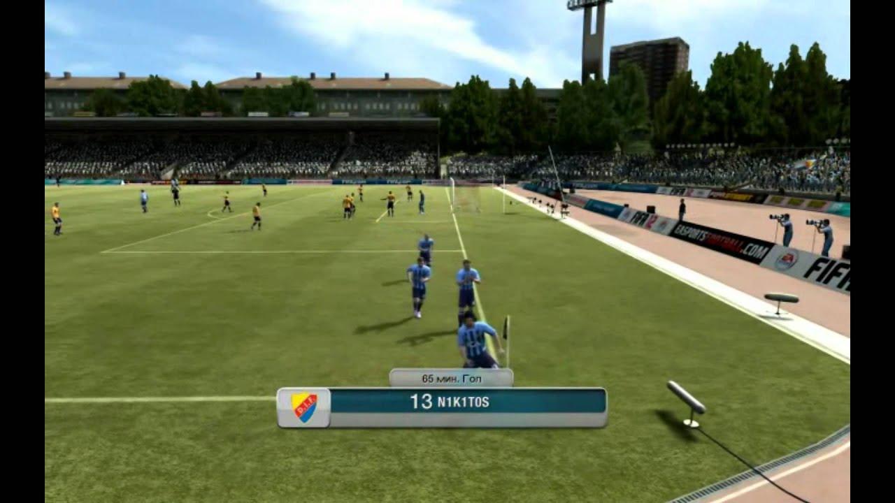 SU летсплей FIFA 12 Виртуальный футболист фифа 12 виртуальный футбо