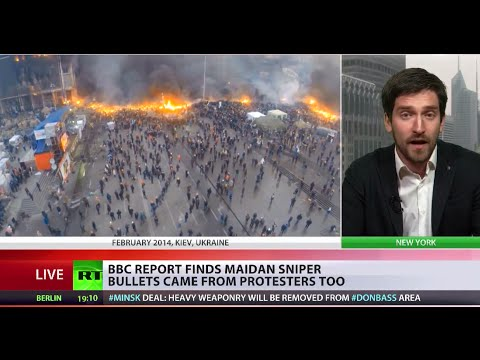 BBC report finds Maidan sniper bullets came from protesters too