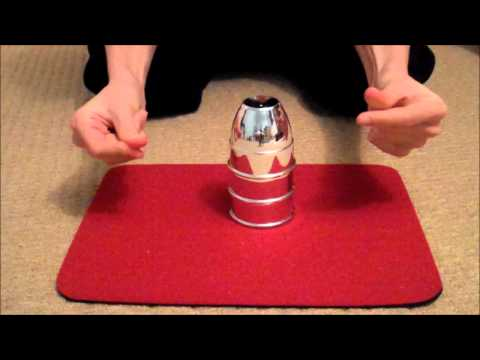 Cups & Balls - Amazing Magic Trick - Criss Angel Mindfreak Ultimate Magic Kit - Performance