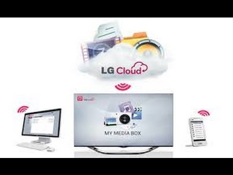 How to install & use LG Cloud in windows PC