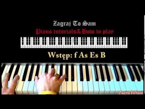 Księżniczka- Sylwia Grzeszczak (jak Zagrać- Piano Tutorial) Zagrajtosam2