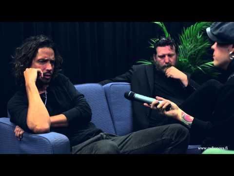 Soundgarden interview with Radio Nova Finland - part1 HD