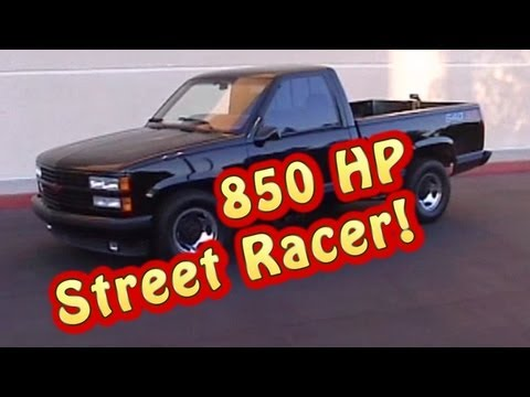 Vicious Truck Burnouts!  850 HP 632 CI BBC Chevy Truck from Nelson Racing Engines.