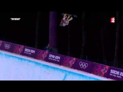 Snowboard : Le run de la défaite pour Shaun White - JO Sotchi 2014