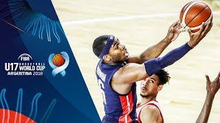 Canada v USA - Condensed Game - Semi-Final -  FIBA U17 Basketball World Cup 2018