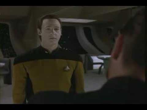 Data has some messed up dreams! (Data from Star Trek)
