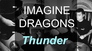 Download Lagu Imagine Dragons - Thunder DRUMS, SOLO guitar COVER Gratis STAFABAND
