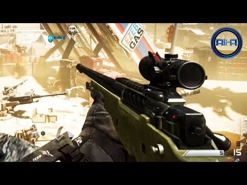 """SNIPING GAMEPLAY"" - Call of Duty: GHOSTS Multiplayer - (COD Ghost Sniper Online HD)"