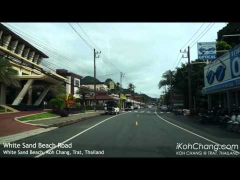 White Sand Beach Road, Koh Chang, Trat, Thailand