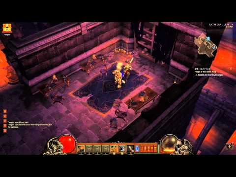 FPS / MMO Gamer Plays Diablo 3 [Intro part 2]