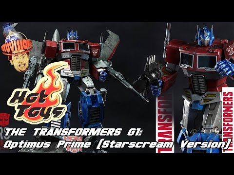 Hot Toys Transformers G1 Optimus Prime Starscream Version Up For PreOrder!
