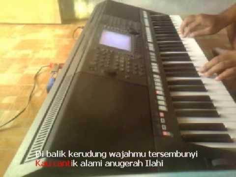 Kerudung Putih Rhoma Irama Karaoke Yamaha Psr S750 video