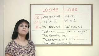 Confused Words - LOSE or LOOSE?