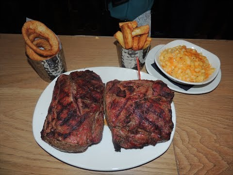 Food Challenge - 72oz Steak Challenge @ Meat House!!